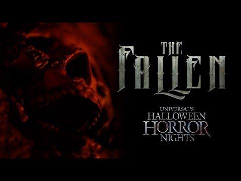 The Fallen House Reveal   Halloween Horror Nights 2017