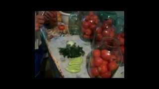 Рецепт консервации помидор на зиму