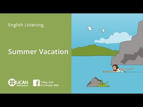 Learn English Listening | Beginner: Lesson 11. Summer Vacation