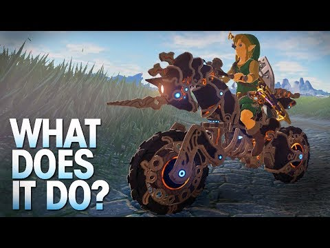 What does the Master Cycle Zero do in Breath of the Wild?
