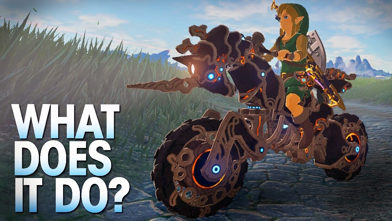 Zelda Breath Of The Wild Master Cycle: What Does The Master Cycle Zero Do In Breath Of The Wild