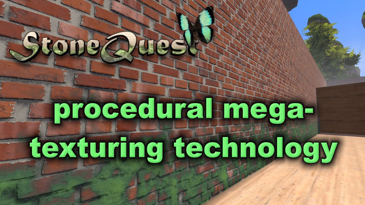 StoneQuest: Procedural Voxel Take on World Building