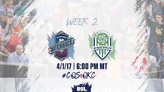 USL LIVE - Colorado Springs Switchbacks FC vs OKC Energy FC 4/1/17