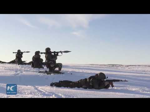 Russian Northern fleet performs amphibious drills in Arctic waters