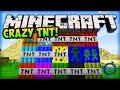 Minecraft Mods CRAZY TNT - WE BROKE MINECRAFT! - Minecraft Mod TNT