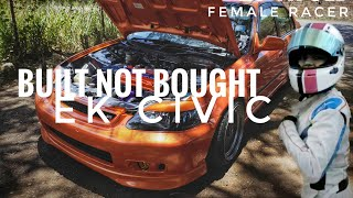 Built Not Bought EK Civic & 20 Yr Old Female Circuit Racer - SKUNK LIFESTYLE EPISODE 18