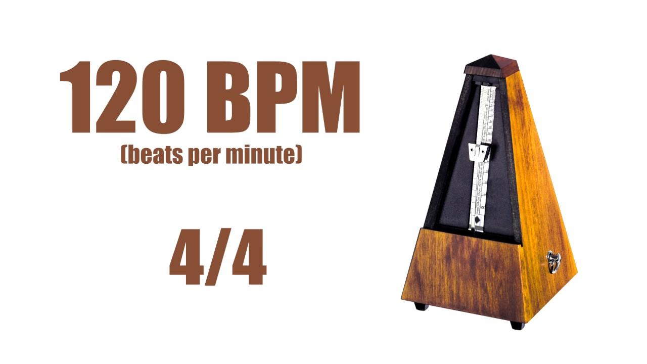 120 BPM Metronome 4/4 – Best Online Metronome 120 Beats Per Minute