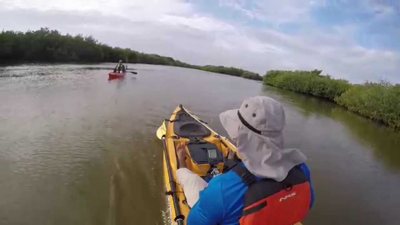 Kayakeros de la peninsula kayak fishing la r a progreso for Kayak fishing louisiana
