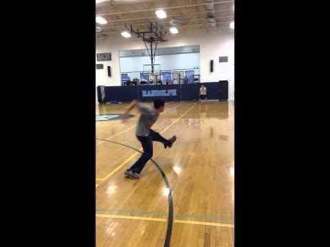 Garrett Gagnon Sidearm Pitching College Skills