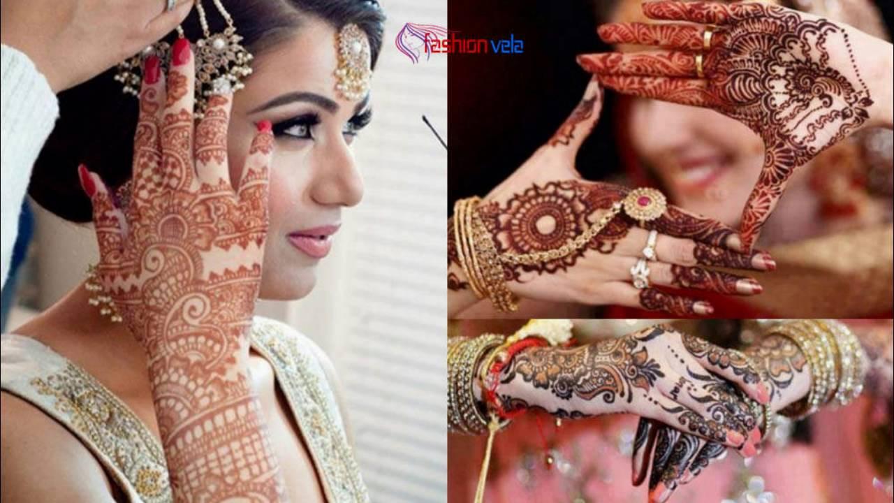 Mehndi Designs Punjabi : Beautiful punjabi mehndi designs fashion world youtube