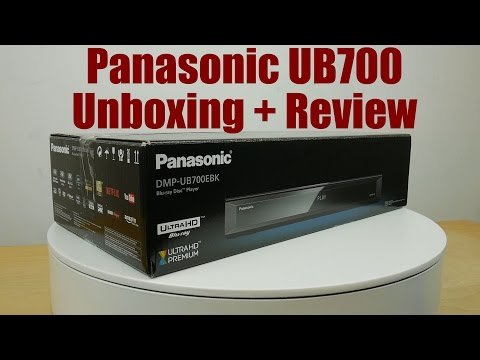 panasonic-ub700-4k-blu-ray-player-unboxing-+-review