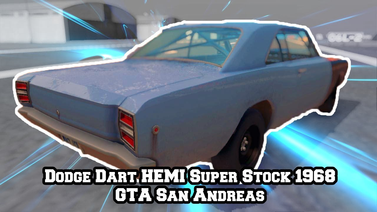 Dodge Dart HEMI Super Stock LO23 1968 - GTA San Andreas