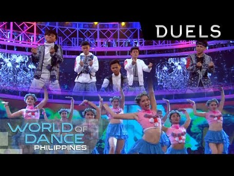 World Of Dance Philippines: Thy Grace vs. B2WIN - The Duels | Junior Division