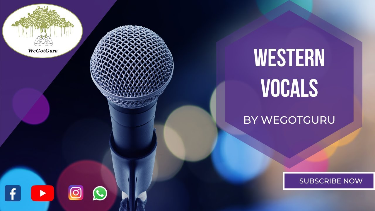 Western Vocal lessons at WeGotGuru