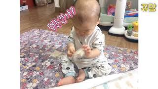 8개월아기와 놀기, 엄마표 미술놀이