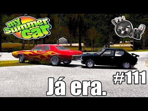 My Summer Car - Teria que vender o carro e a casa pra pagar a multa! #111 (G27 mod)