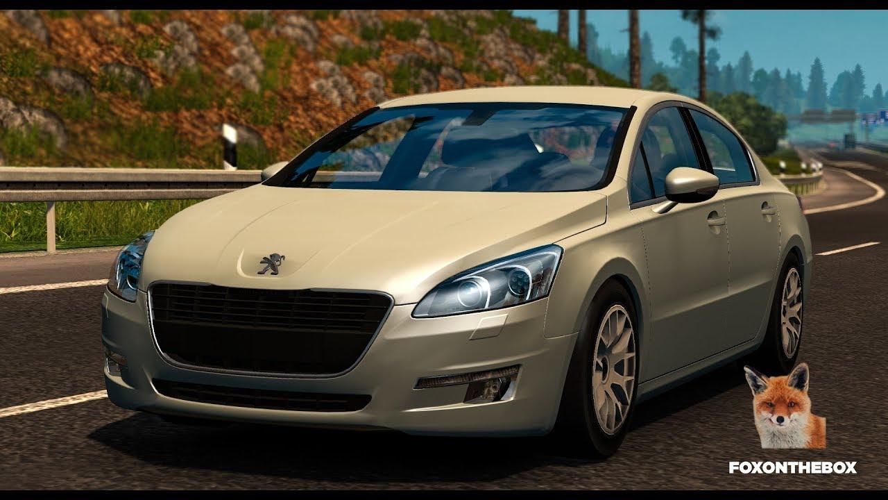 Peugeot 508 Euro Truck Simulator 2 Ets2 1 28 Mod Youtube