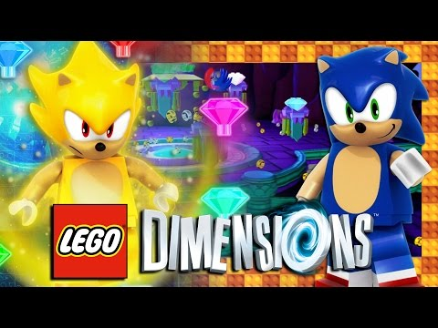 Lego Dimensions Ps4 Pro Sonic Level Pack Free Roam First Time Gameplay 4k 60fps Youtube