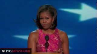 Watch Michelle Obama Speak to the Democratic National Convention