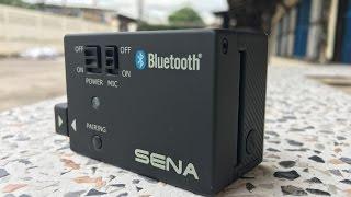 z800 review sena bluetooth audio pack for gopro แบบบ านๆ