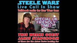 Appearance on the Steele Wars Podcast (Link now in description. Face still burnt)
