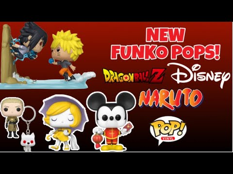 New Funko Pop Releases! 2020 CNY Mickey Mouse, Naruto, Ad Icons & More!