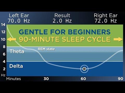 [GENTLE] The Best Binaural Beats for a Restful Sleep (90-Minute Sleep Cycle)