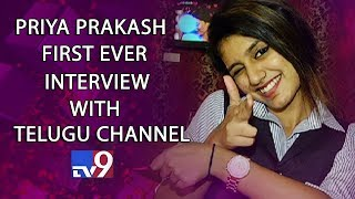 Priya Prakash Varrier​ First Ever Personal Interview With Telugu Channel - TV9 Exclusive