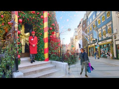 CHRISTMAS in MAYFAIR 🎁 LONDON WALK incl. Berkeley Square, Burlington Arcade and Piccadilly Circus