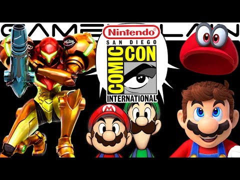 Nintendo @ SDCC DISCUSSION - Mario Odyssey, Samus Returns, Rabbids, M&L SuperStar Saga (Hands-On!)