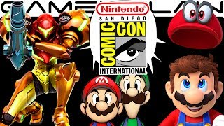 Nintendo @ SDCC DISCUSSION - Mario Odyssey, Samus Returns, Rabbids, M&L SuperStar Saga (Hands-On!)