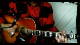 Eighteen Wheels And A Dozen Roses ~ Kathy Mattea ~ Cover w/ Epiphone Dove Pro VB & BT