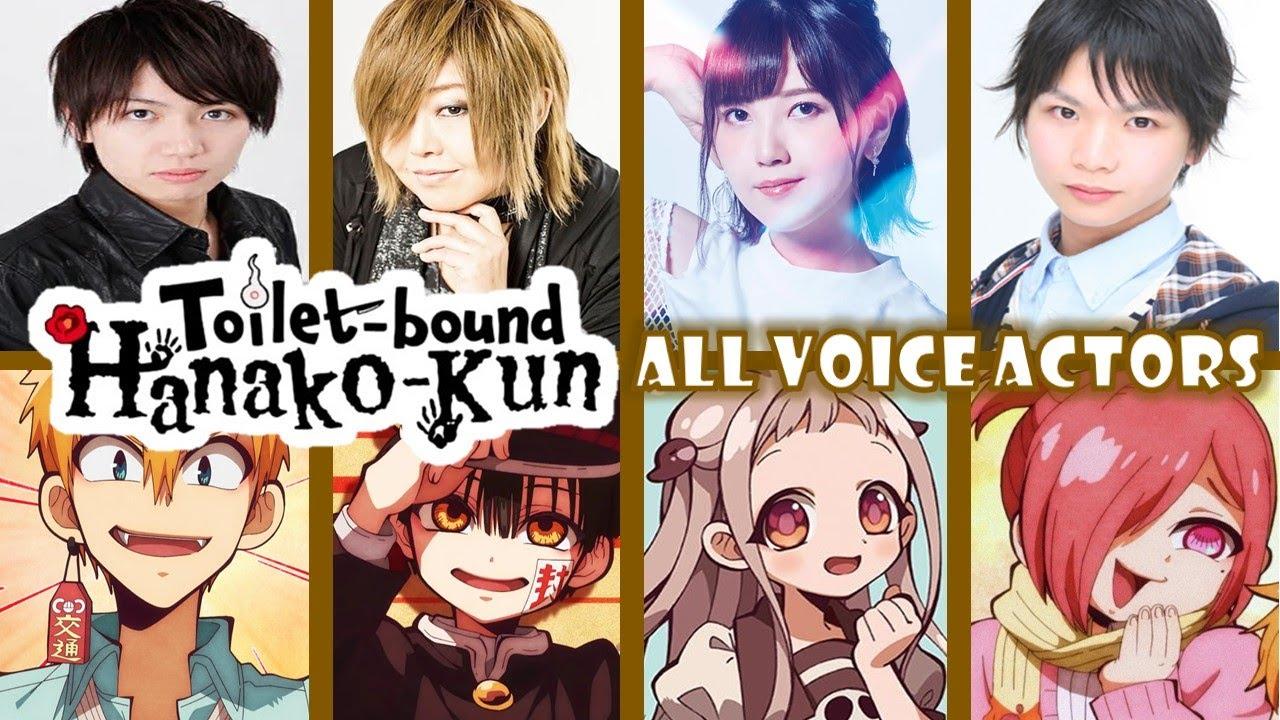 Darwin's game as ryūji maesaka. All Cast Characters Voice Actors Jibaku Shounen Hanako Kun Toilet Bound Hanako Kun Youtube
