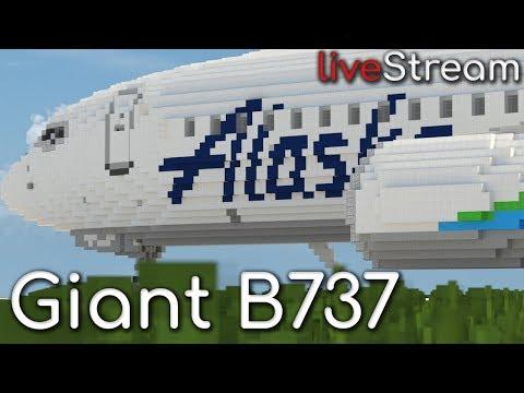 Building the Giant 737! Livestream + Q&A!