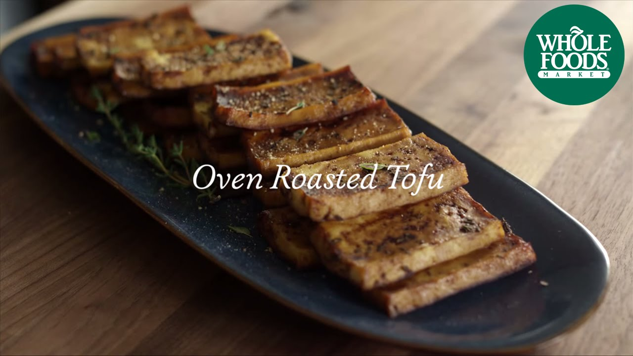 Homemade healthy recipe oven roasted tofu whole foods market homemade healthy recipe oven roasted tofu whole foods market youtube forumfinder Choice Image