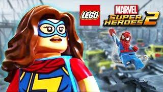 - Человек паук LEGO MARVEL SUPER HEROES 2 прохождение на русском Часть 2