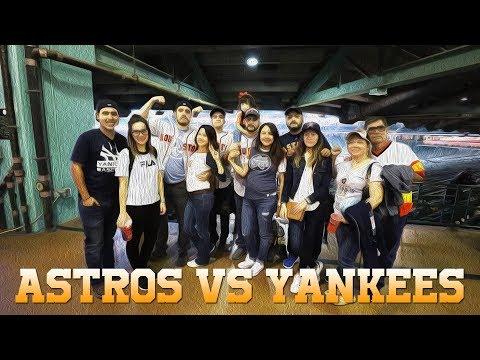 Mi Primo Chicurris de Visita en Houston Texas & Astros VS Yankees 2018