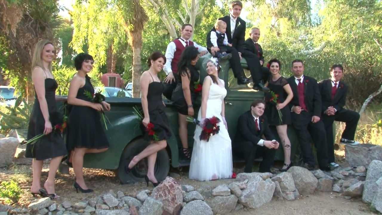 Wedding Sample At Boojum Tree Phoenix Arizona
