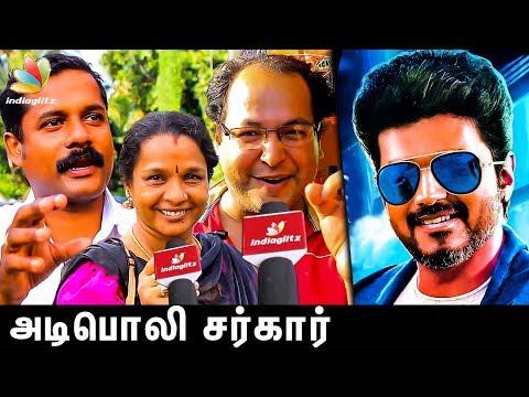 Power Of Vijay Fans In Kerala : Sarkar Public Review | Latest Tamil Movie