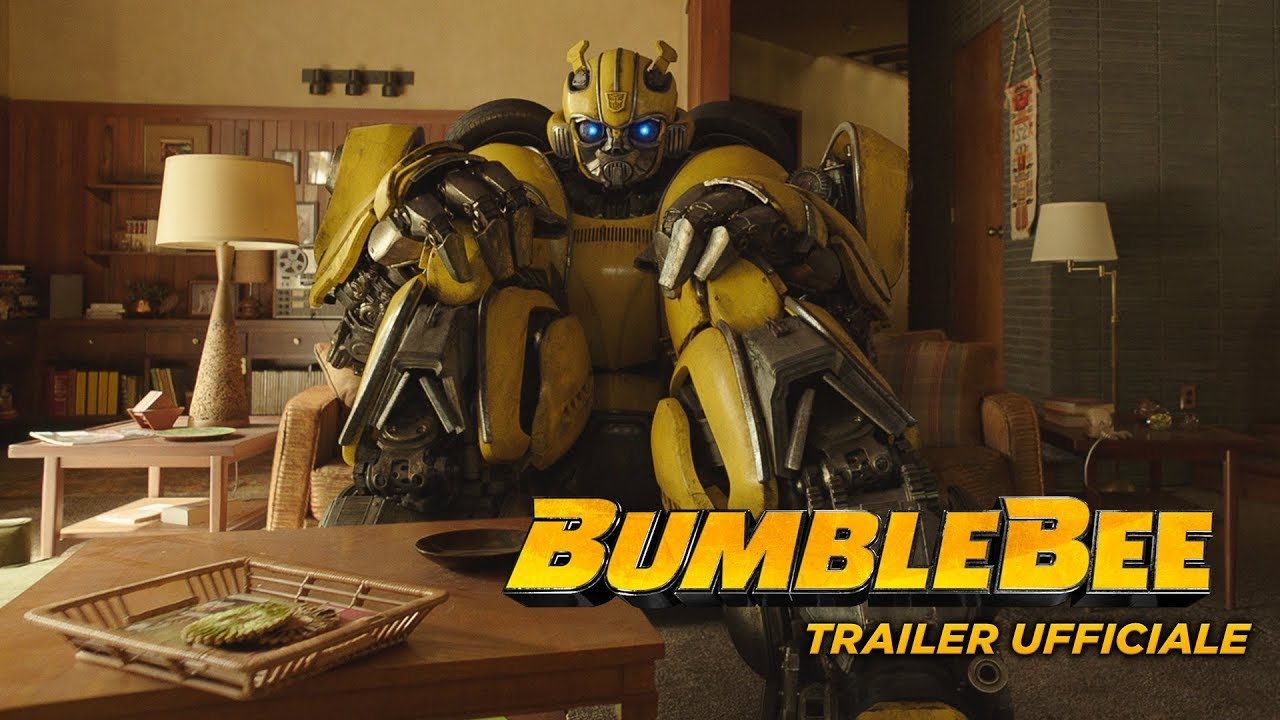 Bumblebee Trailer Ufficiale Hd Paramount Pictures 2018 Youtube