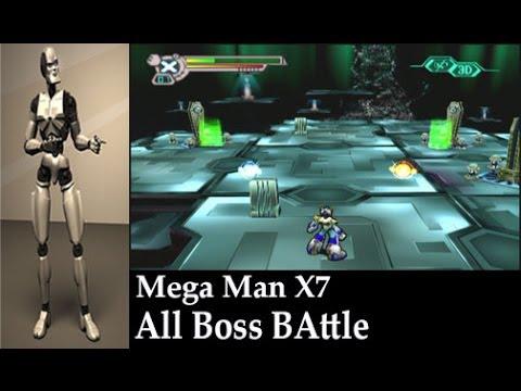 Mega Man X7 All Boss Battle Stage