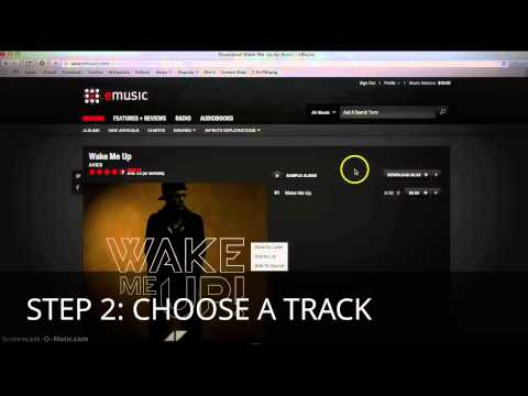 HOW TO DOWNLOAD FREE MUSIC With EMusic IN 3 STEPS