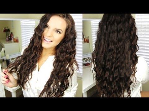 school wavy hair tutorial