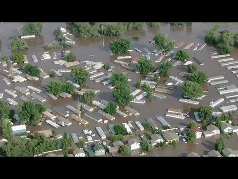 Raw video: Extreme flooding in Weld County