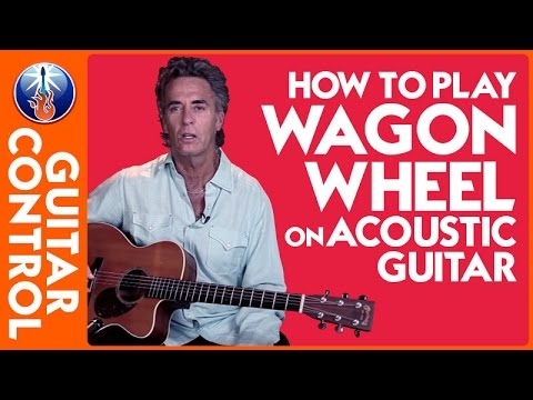 How To Play Wagon Wheel On Acoustic Guitar Easy Strum Lesson YouTube Fascinating Wagon Wheel Strumming Pattern