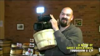 ghost adventures crew at candy store