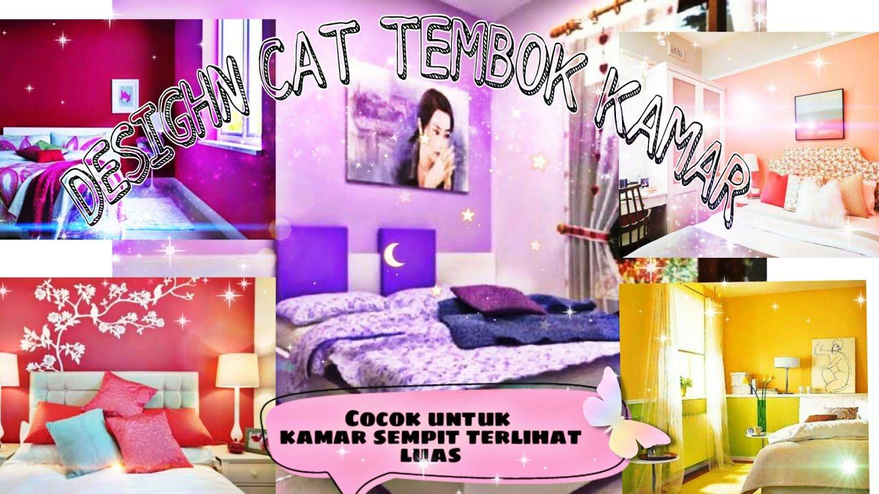 DESIGN CAT TEMBOK KAMAR | AGAR TERLIHAT LUAS |HomeDecor ...