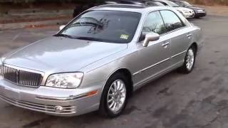 2005 Hyundai Xg350l Sedan Silver for sale
