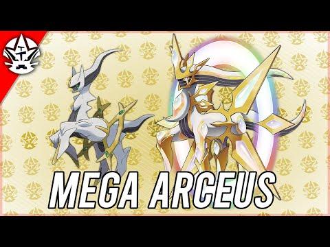 If Arceus got a Mega Evolution in Brilliant Diamond & Shining Pearl
