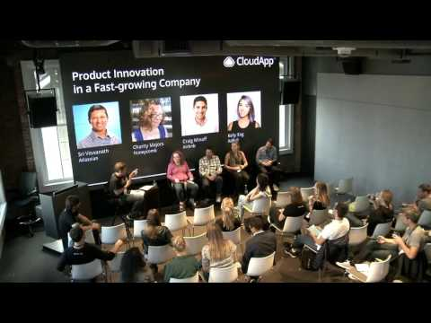 Panel Discussion: Product Innovation in fast-growing companies